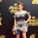 Holland Roden – 2017 MTV Movie And TV Awards in Los Angeles - 454 x 682