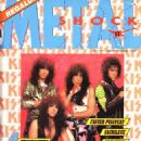 KISS - Metal Shock Magazine Cover [Italy] (November 1987)