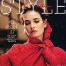 Lily James – Sunday Times Style Magazine (January 2019) adds - 454 x 611
