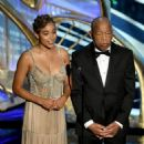 Amanda Stenberg and John Lewis At The 91st Annual Academy Awards - Arrivals (2019)