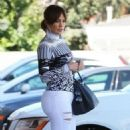 Jennifer Lopez In Tight Jeans Out In Las Vegas