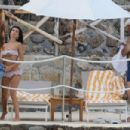 Emily Ratajkowski in Bikini on vacationing in Tuscany - 454 x 303