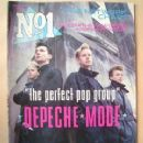 David Gahan - No1 Magazine Cover [United Kingdom] (22 February 1986)