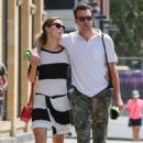 Olivia Wilde and Jason Sudeikis out in New York City (August 2)