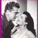 Jane Russell and Victor Mature