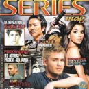 Chad Michael Murray, Eva Longoria, Matt Dallas, Masi Oka, Jensen Ackles, Jared Padalecki, Wentworth Miller - series mag Magazine Cover [France] (January 2008)