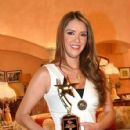 Marlene Favela: receiving an award in style