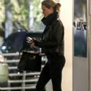 Rosie Huntington Whiteley – Arrives at Lancer Skin Care Clinic in Beverly Hills