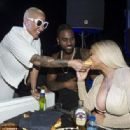 Blac Chyna and Amber Rose at The 2016 Cannes Lions festival in Cannes, France - June 22, 2016