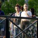 Lily Collins – On set of 'Emily in Paris' TV show in Paris