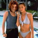 Neve Campbell and Denise Richards in Wild Things