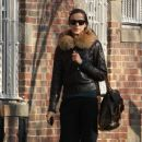 Irina Shayk: out and about West Village New York