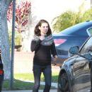Mila Kunis and Zoe Saldana – Out in Los Angeles
