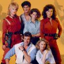 Jane Badler as Diana, Marc Singer as Mike Donovan, Faye Grant as Dr. Julie Parrish in the original