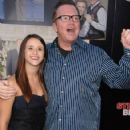 Lisa Wilhoit and Tom Arnold arrive at the Step Brothers Premiere - 423 x 600