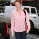 Katherine Heigl In Tights Out In Nyc