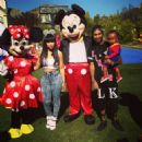 Blac Chyna and Tyga Celebrating King Cairo's 1st Birthday at Their Calabasas Mansion - October 12, 2013