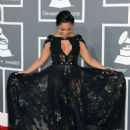 ASHANTI at 55th Annual Grammy Awards in Los Angeles