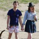 Anne Hathaway and Adam Shulman: Flamingo Friendly