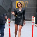 Taylor Marie Hill – Photoshoot candids for David Yurman in NYC