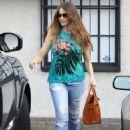 Sofia Vergara shopping at Martha Medeiros in West Hollywood