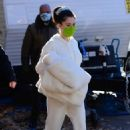 Selena Gomez – on the set of 'Murders In The Building' in NY