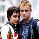Angelina Jolie and Jonny Miller in Hackers (1995)