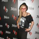 Avril Lavigne attend the Magic Fashion and Apparel Trade Show at the Las Vegas Convention Center