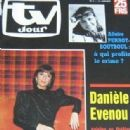 Danièle Evenou - TV Jour Magazine Cover [Belgium] (15 January 1986)