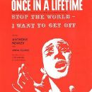 ANTHONY NEWLEY, SHEET MUSIC, STOP THE WORLD I WANT TO GET OFF,