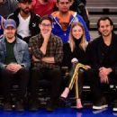 Sydney Sweeney – New York Knicks v New Orleans Pelicans preseason game in NY - 454 x 329