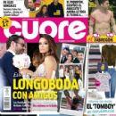 Eva Longoria and Jose Antonio Baston - Cuore Magazine Cover [Spain] (26 May 2016)