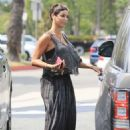 Nicole Murphy in Long Dress at Petco in West Hollywood