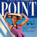 Barbara Osterman - Male Point Magazine Cover [United States] (March 1955)