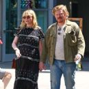 Kirsten Dunst with husband out in Hollywood