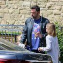 Ben Affleck and Jennifer Garner after church Sunday, March 26th, 2017 - 454 x 356