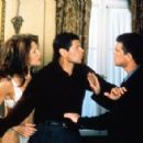 Title: Melose Place  Episode: Asses to Ashes People: Jamie Luner, Thomas Calabro, Dan Riley - 454 x 293