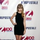 Taylor Swift in the press room for Z100's Jingle Ball 2012 presented by Aeropostale at Madison Square Garden in New York City