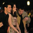 Robert, Kristen & Taylor at the 2011 People's Choice Awards at Nokia Theatre L.A. Live on January 5, 2011 in Los Angeles, California
