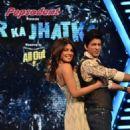 Shahrukh and Priyanka at Zor Ka Jhatka Total Wipeout