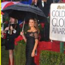 Penelope Cruz At The 67th Annual Golden Globes Awards 2010