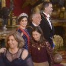 King Felipe and Letizia host a dinner for Portuguese president - 454 x 303