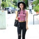 Victoria Justice Out and About In La