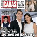 Cristiano Ronaldo, Irina Shayk - Caras Magazine Cover [Portugal] (21 December 2013)