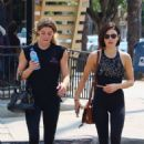 Lucy Hale and Ashley Green – Leave the gym in Los Angeles