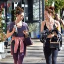 Ashley Greene – Spotted while out with a friend in Studio City