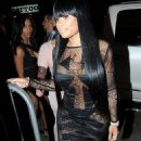 Blac Chyna and Amber Rose at The Supperclub in Los Angeles - December 18, 2014