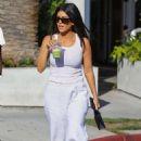 Kourtney Kardashian and Luka Subbat at Cha Cha Matcha in West Hollywood