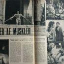 Steve Reeves - Billed Bladet Magazine Pictorial [Denmark] (28 August 1959) - 454 x 306