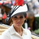Meghan Markle – 2018 Royal Ascot Day One in Berkshire - 454 x 528